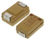 Product image for T495 SMT tant cap, case D, 16V 100uF