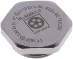 Product image for Blanking Plug M20 Metal ATEX IP68