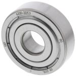 Product image for Bearing, ball, shield, 10mm ID, 30mm OD