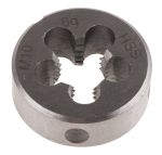 Product image for DIN HSS steel die,M10 1.5mm pitch,25x9mm