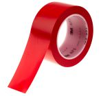 Product image for Vinyl tape 50 mm x 33 mm, red
