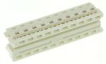 Product image for 20 way IDT housing,1.27mm pitch low prof
