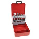 Product image for 1/4in 6pcs round shank countersink set