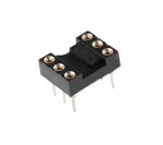Product image for Socket,IC,DIP,2.54mm,standard,closed,6P