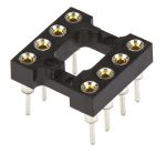 Product image for Socket,IC,DIP,2.54mm,standard,ladder,8P