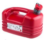 Product image for Pressol Red HDPE Petrol Jerrycan 5 Litre