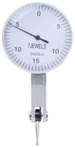 Product image for Levertype Dial Indicator,0-0.03in/0-15-0