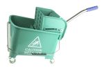 Product image for 20 Litre Green Bucket Mopping Trolley
