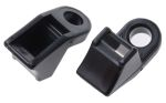 Product image for Cable mount PA66 27x12x16mm black LKM