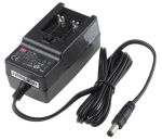 Product image for Power Supply,Plug Top,5V,2.4A,12W