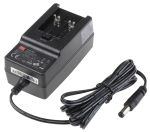 Product image for Power Supply,Plug Top,15V,1.6A,24W