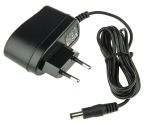Product image for Power Supply,Euro Plugtop,5V,1A,5W