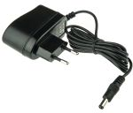 Product image for Power Supply,Euro Plugtop,12V,0.5A,6W