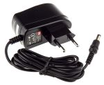 Product image for Power Supply,Euro Plugtop,15V,0.4A,6W
