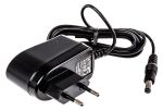 Product image for Power Supply,Euro Plugtop,24V,0.25A,6W