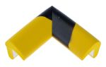 Product image for Corner protection yellow/black 30x30mm