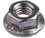 Product image for Stainless steel serrated flange nut,M5