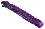 Product image for Purple duplex webbing sling,3m 1ton
