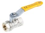 Product image for Gas lever handle ball valve 1/4in