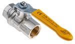 Product image for Gas lever handle ball valve 1/2in
