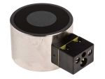 Product image for 40mm Dia. 12V Electro Holding Magnet