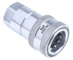 Product image for 1/2in BSP female self sealing coupler
