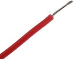 Product image for Red silicone lead wire 1sq.mm 5m