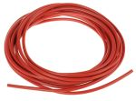 Product image for Red PVC test lead wire 1sq.mm 5m