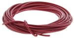 Product image for Red PVC cable 0.5mm.sq 5m