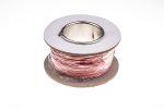 Product image for RS PRO Unshielded Test Lead Wire 0.25 mm² CSA 500 V 1.4 A Red Silicone Rubber, 50 Strands 25m