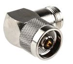 Product image for N Plug to N jack right angled adapter