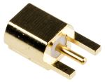 Product image for MMCX Jack PCB edge gold plated 50 Ohms