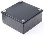 Product image for Adaptable Box 100x100x50mm Black Enamel