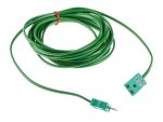 Product image for Thermocouple type K Extension Lead 5m