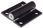 Product image for Black alu friction hinge 65x55x4.5mm