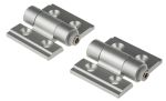 Product image for Clear Al. high torque hinge, 34x30x3mm