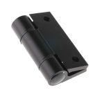 Product image for Black alu free swing hinge 65x55x4.5mm