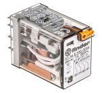 Product image for 4P plug in relay with LED 230Vac 7A