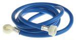 Product image for 2.5m Washing machine hose blue