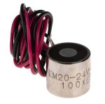 Product image for 20mm Dia. 24V Electro Holding Magnet