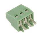 Product image for 3 way PCB terminal block 2.54mm