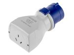 Product image for Adaptor 1 Way IEC309 plug to ANZ Socket