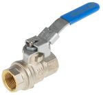Product image for 1/2in. Brass B/ Valve with Exhaust