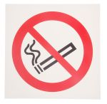 Product image for 200x200mm PP No Smoking Sign