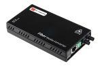 Product image for RJ45 to fibre media ethernet converter