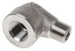 Product image for 1/2in F/Steel 316 90Street Elbow Joint