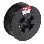Product image for RS Black PLA 1.75mm Filament 1kg