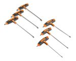 Product image for Bahco 6 pieces Hex Key Set,  T Shape 3mm