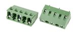 Product image for 10mm PCB terminal block, std profile, 3P