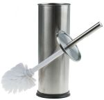 Product image for Stainless Steel Toilet Brush Set